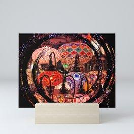 bright lights Mini Art Print