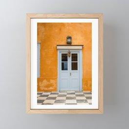 The Way to Greece  Framed Mini Art Print