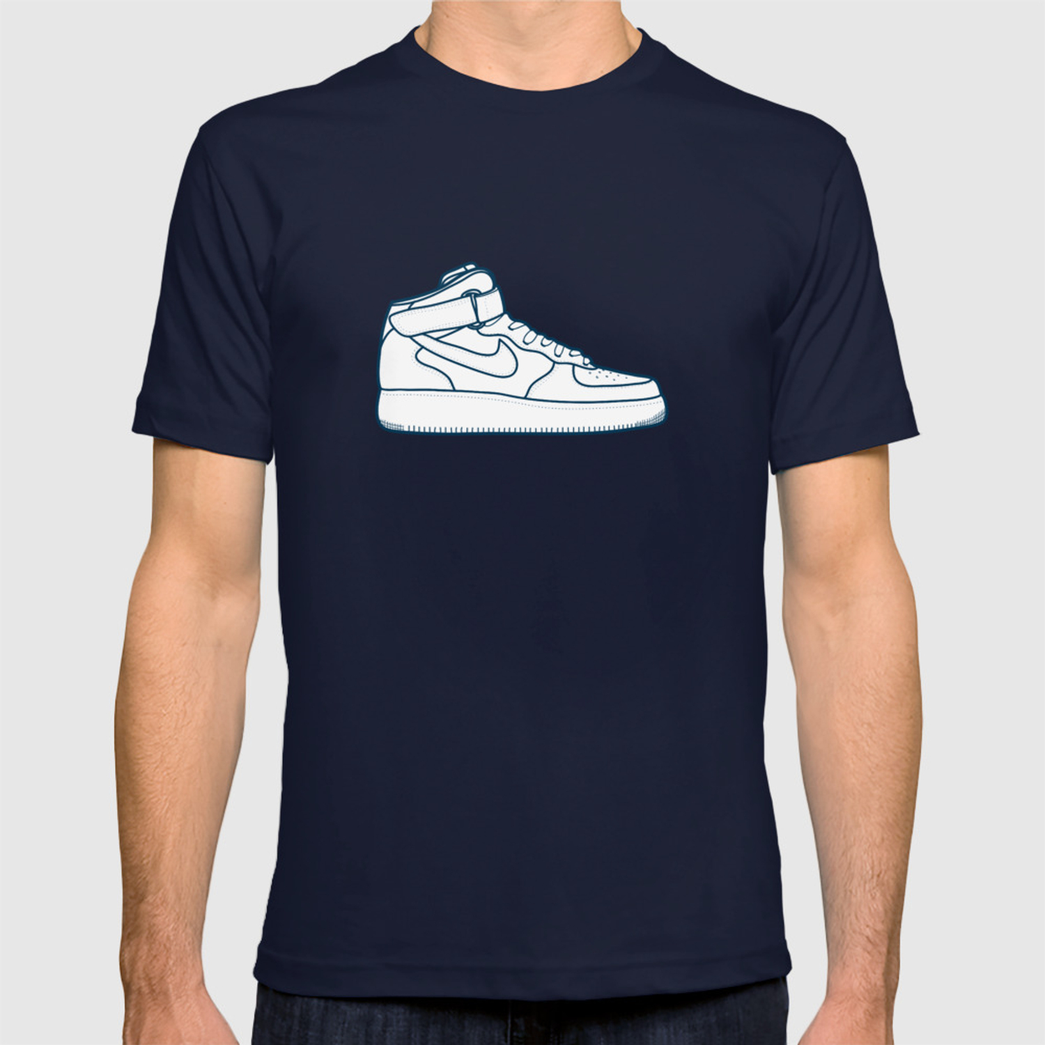 air force 1 nike shirt