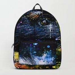 guinea pig colorful side portrait wsstd Backpack
