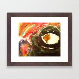 Bomb Suit Visions Framed Art Print