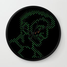 Neon Tears (Colby) Wall Clock