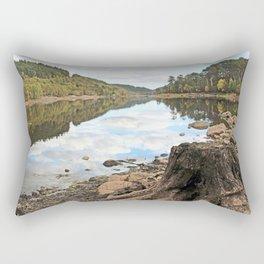 The world revolves Rectangular Pillow