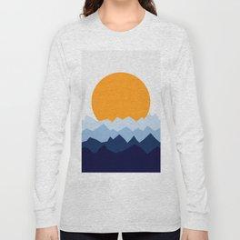 Geometric Landscape XX Long Sleeve T-shirt