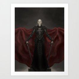 Vampire Lord Art Print