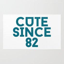 Cute Since 82 Rug