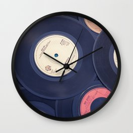 Sounds of the 70s Wall Clock