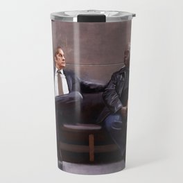Jimmy McGill And Huell Babineaux From Breaking Bad And Better Call Saul Travel Mug