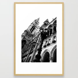 Opera at the Hall in Vienna Framed Art Print