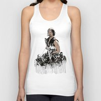 daryl dixon Tank Tops featuring Daryl Dixon by Huebucket