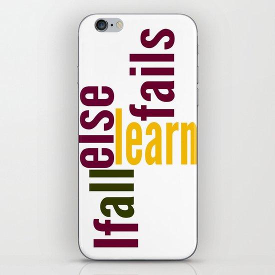Learn iPhone & iPod Skin
