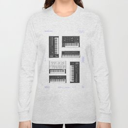 Collection : Synthetizers Long Sleeve T-shirt
