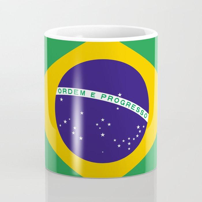Flag of Brazil Coffee Mug