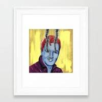 elvis Framed Art Prints featuring Elvis by FAMOUS WHEN DEAD