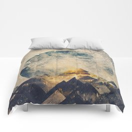 One mountain at a time Comforters