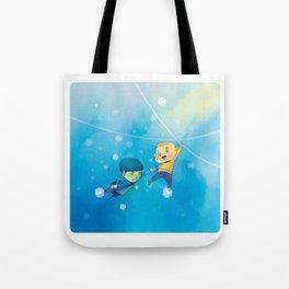 Spirk winter adventure Tote Bag