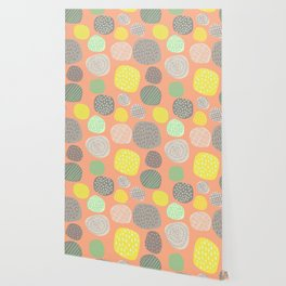 Abstract Multi-colored Circles Wallpaper