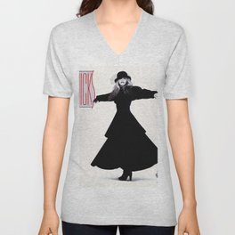 stevie nicks - rock a little cover - Unisex V-Neck