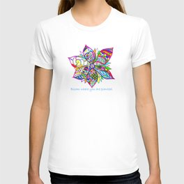 Crazy Flower T-shirt