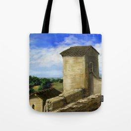 Puycelci Tower DP170319a-14 Tote Bag
