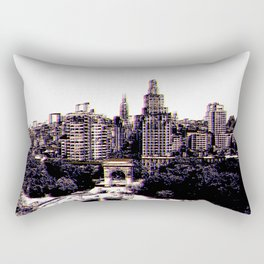 Funkytown - New York City Rectangular Pillow