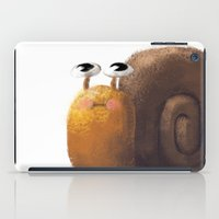 snail iPad Cases featuring Snail by Isableh