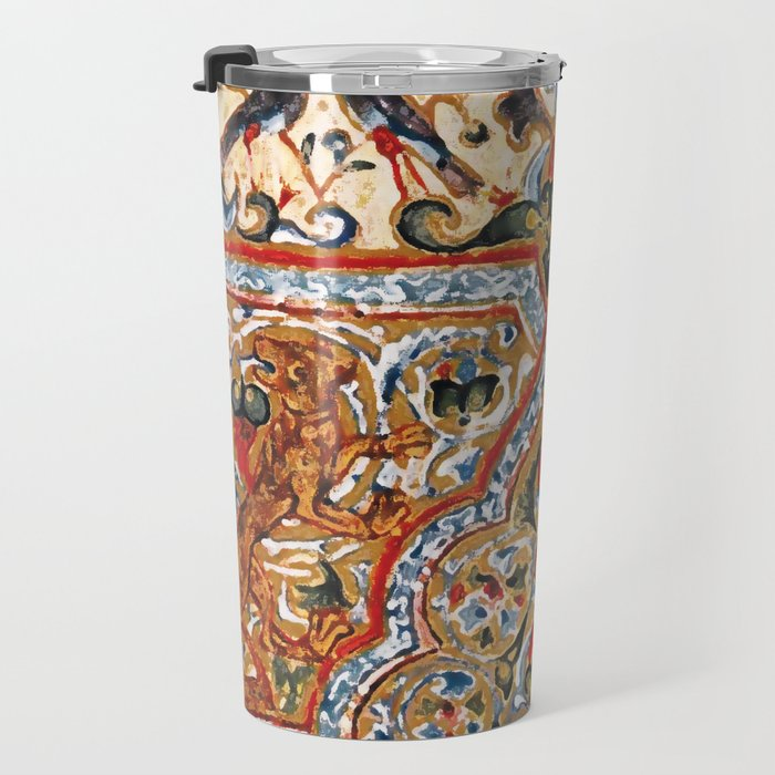 old motives / colorful / Armenian  Travel Mug