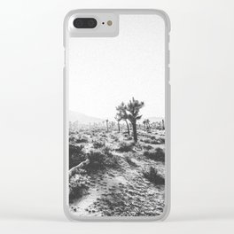 JOSHUA TREE X Clear iPhone Case