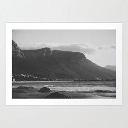 Winter in Cape Town Art Print
