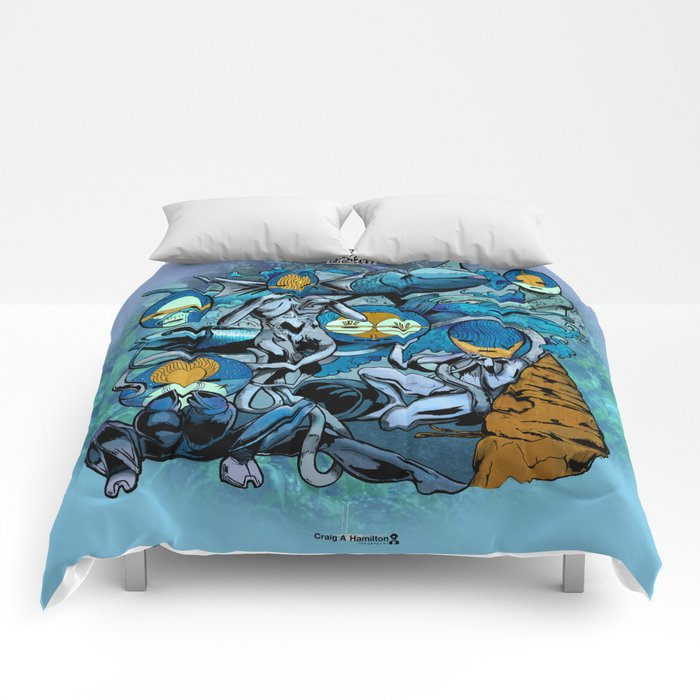 The Hyoeperian Water Tribe of The Northern Atlantean Seas Comforters