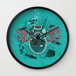 Deep Dive Wall Clock