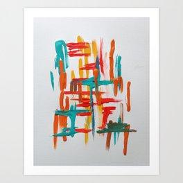 franklin study 1 Art Print