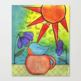 Tea Cozy Canvas Print