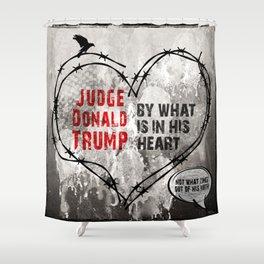 Judge Donald Trump .4 Shower Curtain