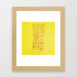 Kate Bingaman Burt Framed Art Print
