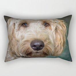 Labradoodle Rectangular Pillow