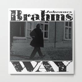 Brahms Way Metal Print