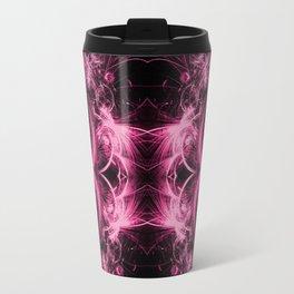 Pink Spirals Travel Mug