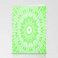 lime green Stationery Cards featuring Lime by SimplyChic
