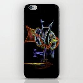 I'd Rather Be Biking iPhone Skin