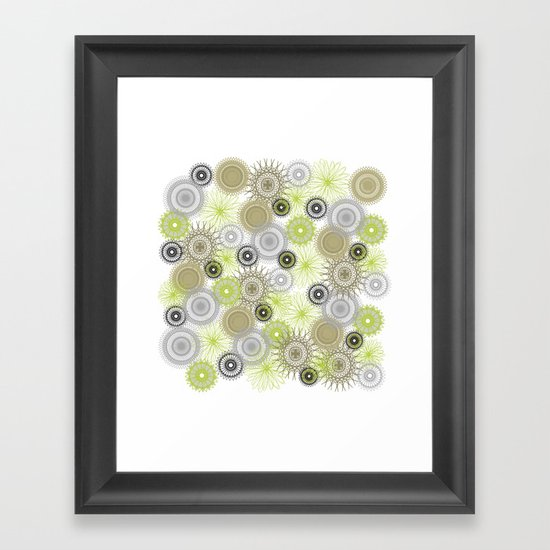 Modern Spiro Art #6 Framed Art Print