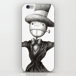 Mr. Turnip Head iPhone Skin
