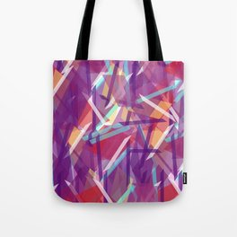Plaid Deconstructed Tote Bag