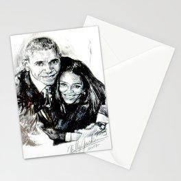 BARACK & MICHELLE OBAMA Stationery Cards