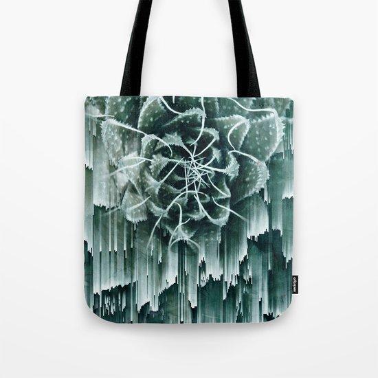 Succulent Glitches Tote Bag