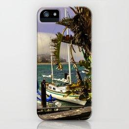 Tropical Morro Bay iPhone Case