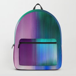 Glitchy Tiles - Abstract Pixel art Backpack