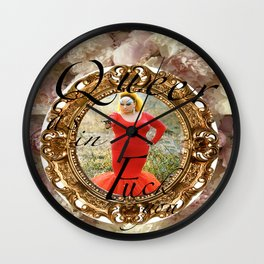 Queer as in Fuck You - Divine Wall Clock