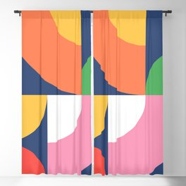 Abstract Geometric 17 Blackout Curtain