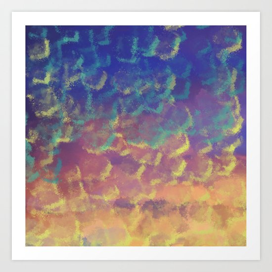 Watercolor Splash #3 #art #society6 Art Print